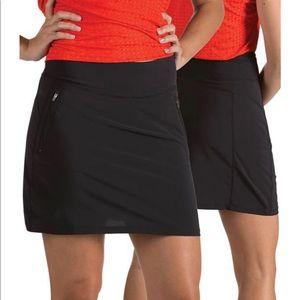 Antigua Enclave Skirt, Black, Golf, NWT